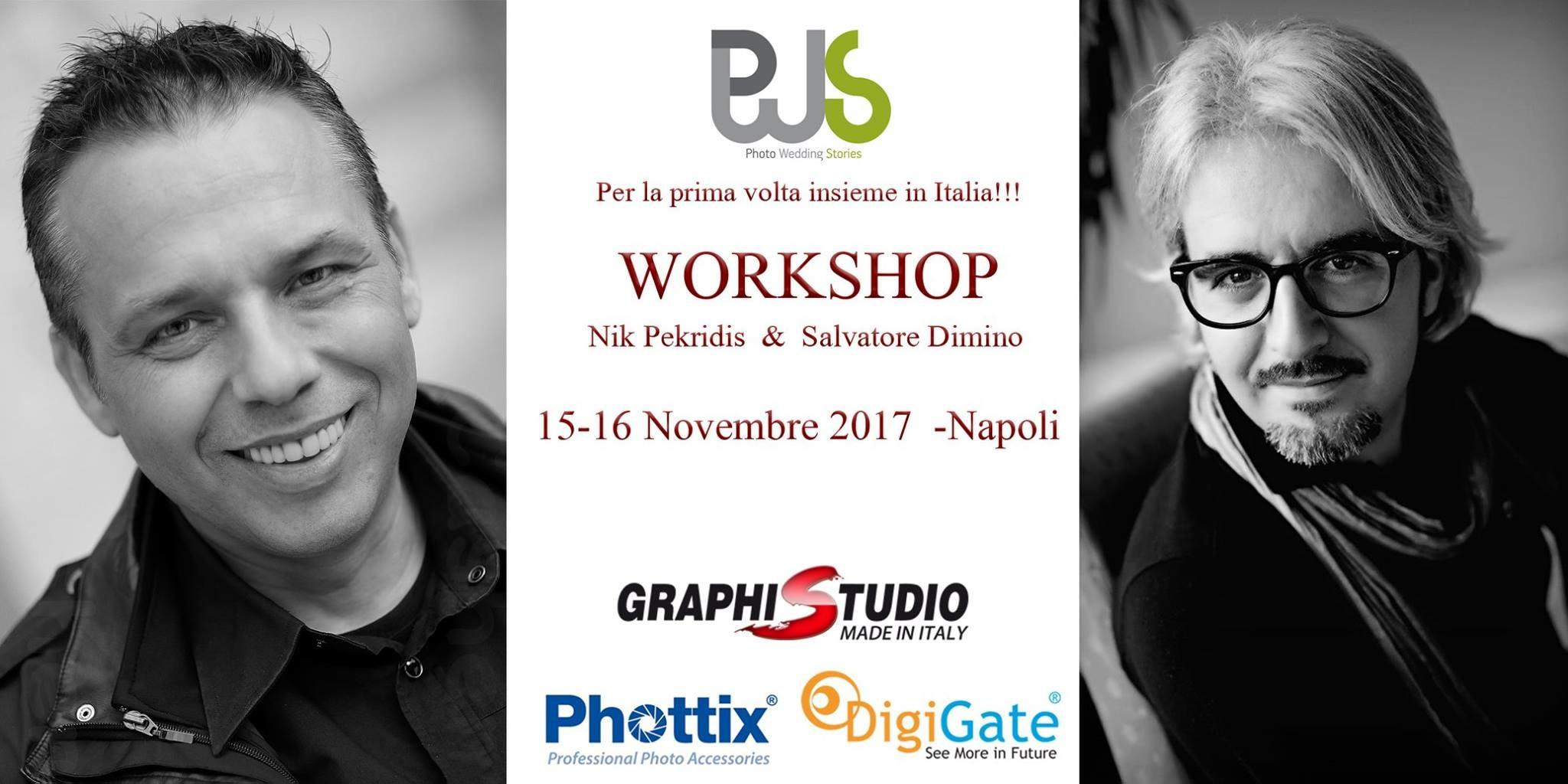 Salvatore Dimino & Nik Pekridis in Napoli
