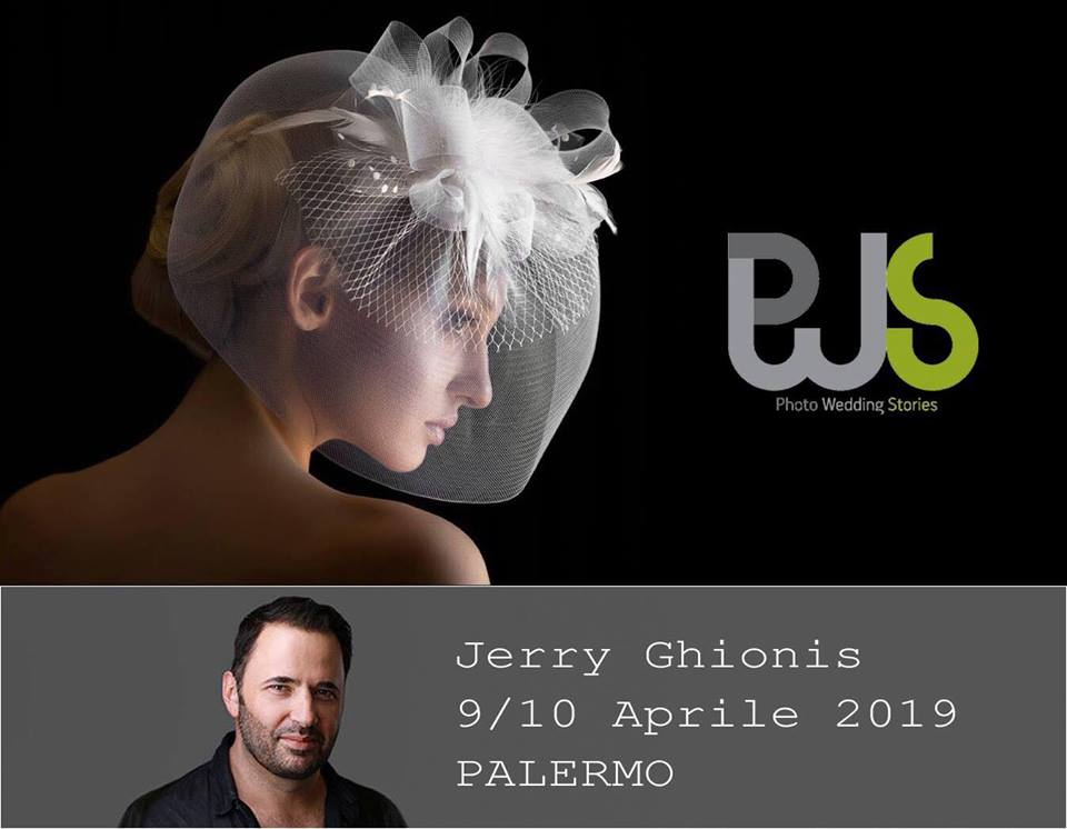 Jerry Ghionis in Palermo 9 and 10 April  - Early bird rate 380€